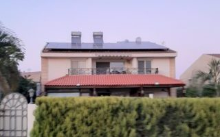 محطة طاقة شمسيه بالربوه