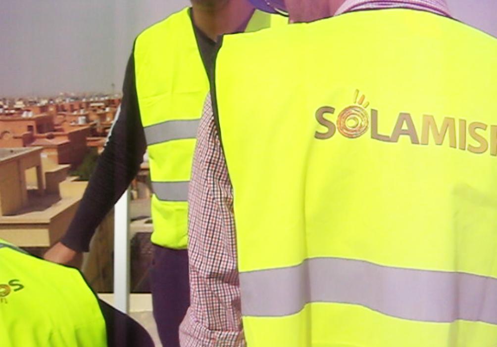 تركيب محطة الطاقة الشمسيه