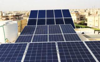 محطة طاقة شمسيه بالرحاب