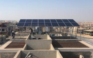محطة طاقة شمسيه ب6 أكتوبر