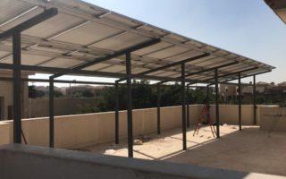 محطة طاقة شمسيه بالعبور
