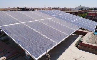 محطة طاقة شمسيه ببورتو كايرو