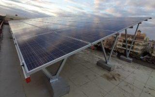 محطة طاقة شمسيه بالشروق