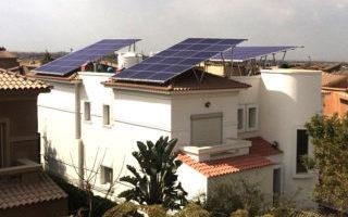 محطة طاقة شمسيه بالقاهرة الجديده