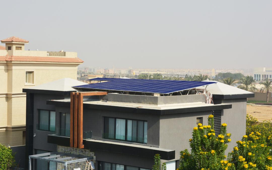 الطاقة شمسية